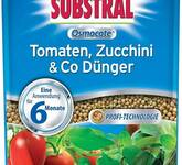 SUBSTRAL Osmocote Tomaten, Zucchini & Co Dünger 750 gr